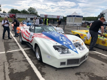 History - Corvette by JPS Racing